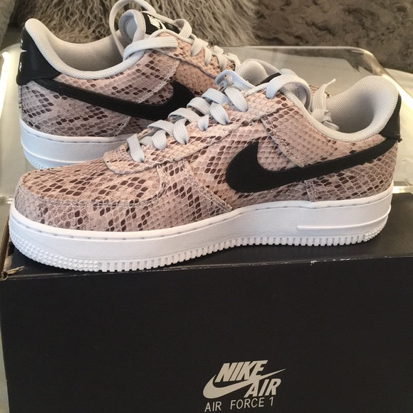 NEW Nike Air Force 1 Snakeskin Shoe